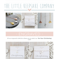The perfect gifts for Christenings ✨