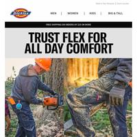 Ultimate Comfort is Easy in FLEX