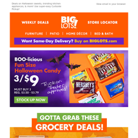 SAVE BIG 💰 on candy, coffee, & kitchen!