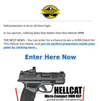 Springfield Hellcat FREE ENTRY INSIDE...($599 Value)