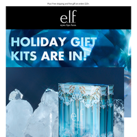 NEW limited edition Holiday Kits are here!