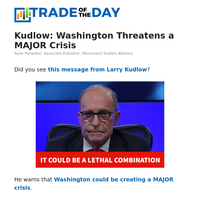 Kudlow: Washington Threatens a MAJOR Crisis