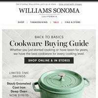 Cookware buying guide (+ ships free!)