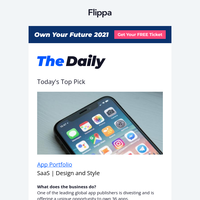 Listing of the Week - 36 Apps, $11.4M Rev