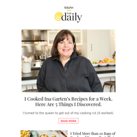 I Cooked Ina Garten's Recipes for a Week (and Discovered 5 Things Along the Way), The Best Fresh and Frozen Tortellini (I Tried More than 20 Bags!) & More from Kitchn