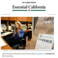 Essential California: 'Mean Girls' crime lab drama in San Diego County