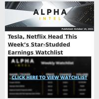 Tesla, Netflix Head This Week's Star-Studded Earnings Watchlist