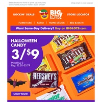 Scary-good deals on Halloween candy!!!
