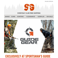 Guide Gear: Top Quality at a Nice Price