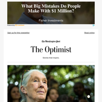 The Optimist: Jane Goodall on climate change — and remaining hopeful for the future