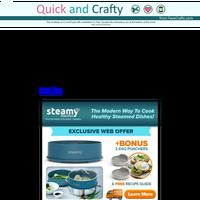 One Steamer - 3 Ways to Cook!