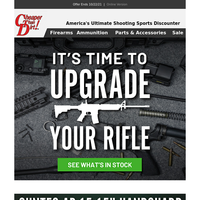 It's Time to Save on 2A Parts and Ammo Now!