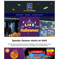 There's lots to like this Halloween at Aldi