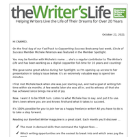 So many writing opportunities waiting for you