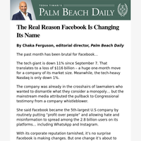 The Real Reason Facebook Is Changing Its Name