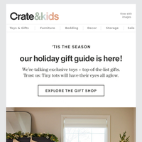 It's Here: The Only Holiday Gift Guide You'll Need