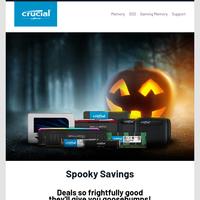 Spooky savings inside - open if you dare!👻