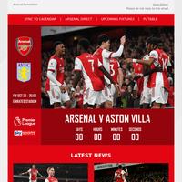 Friday Night Lights   All the latest news ahead of Aston Villa