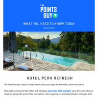 ✈ Big Hotel Perk Refresh, Clear's New Security Service & More Daily News From TPG ✈