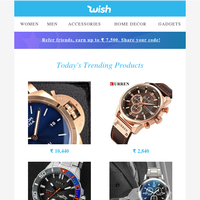 I don't always shop for watches, but when I do it's always on Wish.. Stay on time my friends.