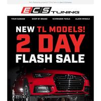 2 Day Flash Sale - New Quickjack TL Models!