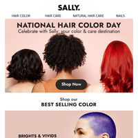 Celebrate National Hair Color Day With Sally