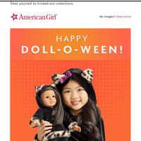Happy Doll-o-ween! 🎃🍬