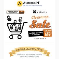 Save Big During HIFIMAN's Clearance Sale