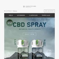 Introducing: Sleep and Calm CBD Mouth Sprays