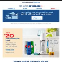🥤 Save $20 on SodaStream Fizzi + more kitchen deals
