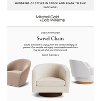 High-Style Seating With a Twist