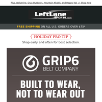 GRIP6 - The Last Belt You Will Ever Need