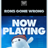 Ron's Gone Wrong Now Playing in Theaters!