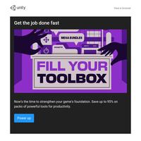 Save up to 95% on time-saving tools