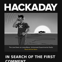 Hackaday Newsletter 0x25