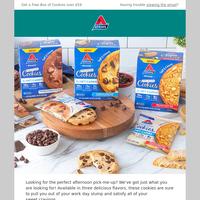 Ends tomorrow - Free Cookies