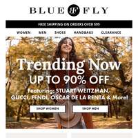 Trending Styles You Can't Miss! Up to 90% Off
