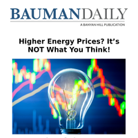 Higher Energy Prices? It's NOT What You Think!
