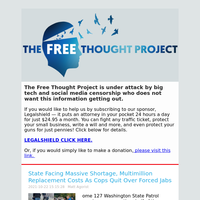 The Free Thought Project Newsletter