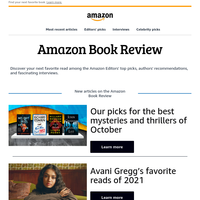 {NAME}: Editors' recommendations on the Amazon Book Review