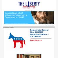 Democrats Reveal Sick SCHEME Targeting Voters... It's Official