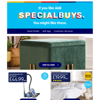 Transform your home for less with our Specialbuys!