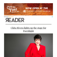 Chita Rivera lights up the stage for Porchlight