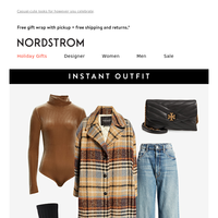 Instant Outfit: gearing up for the holidays