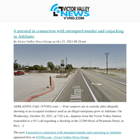 Your VVNG Newsletter 10/22/2021