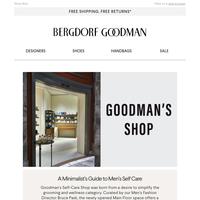 Introducing Goodman's Self-Care Shop