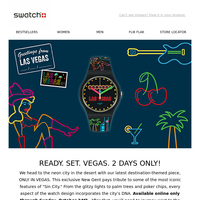 Get lucky with ONLY IN VEGAS – available online 2 days only