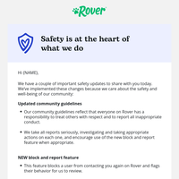 Our updated community guidelines & new safety feature