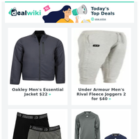 Fall Savings: Oakley Jacket $22 | Sperry Shoes $19 | Reebok Zip Shirt $9 | Under Armour Pullover $24 & More