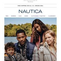 Win $200 + a new Nautica coat!